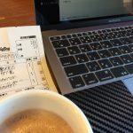 カフェにはMacBookProがよく似合う。③