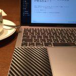 カフェにはMacBookProがよく似合う。④