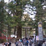 日光輪王寺へ初詣。