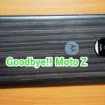 Moto Zを売却しました!