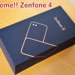 Zenfone 4 を買いました。次のAndroidは君に決めた!